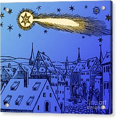 The Great Comet Of 1556 Acrylic Print by Science Source