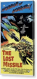 The Lost Missle, 1958 Acrylic Print by Everett