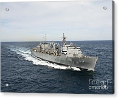 The Military Sealift Command Fast Acrylic Print by Stocktrek Images