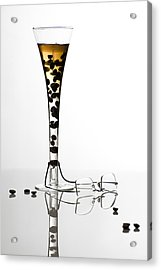 The Morning Drink Acrylic Print by Ovidiu Bastea