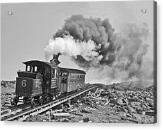 The Mount Washington Cog Railroad Acrylic Print by Gordon Ripley