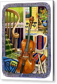 The Music Lesson Acrylic Print