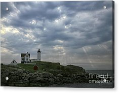 The Nubble Acrylic Print