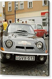 The Old Opel Acrylic Print by Odon Czintos