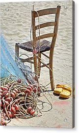 The Place Of The Fisherman Acrylic Print by Joana Kruse