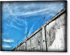 The Prison Walls Acrylic Print by Antoni Halim