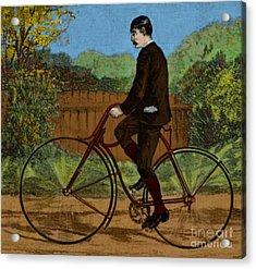 The Rover Bicycle Acrylic Print by Science Source