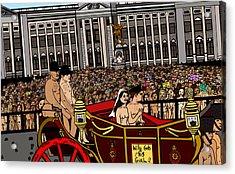 The Royal Nude Wedding Acrylic Print
