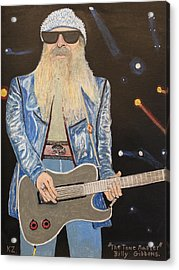 The Tone Master.billy Gibbons. Acrylic Print