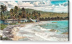 The Water Front   Acrylic Print by Gregory Jules