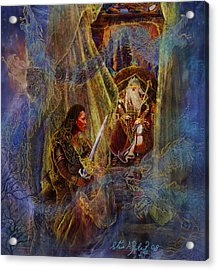 The Wizard's Tower Acrylic Print by Steve Roberts