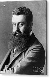 Theodor Herzl (1860-1904) Acrylic Print by Granger
