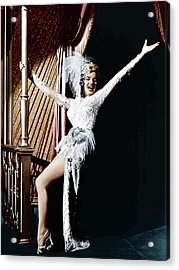 Theres No Business Like Show Business Acrylic Print by Everett