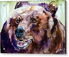 This Is Me Smiling Acrylic Print by P Maure Bausch