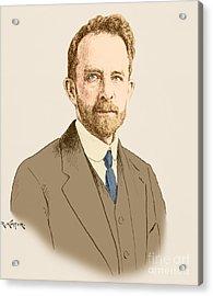 Thomas Hunt Morgan, American Geneticist Acrylic Print by Science Source