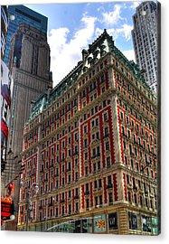 Times Square Acrylic Print by Joe Paniccia