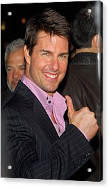 Tom Cruise At Arrivals For Mission Acrylic Print by Everett