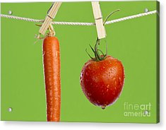 Tomato And Carrot Acrylic Print