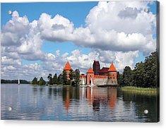 Trakai Castle Acrylic Print