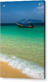 Tropical Paradise Acrylic Print by Adrian Evans