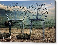 Two Chairs Acrylic Print