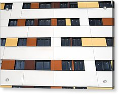 Unfinished Flats, Spain Acrylic Print by Carlos Dominguez