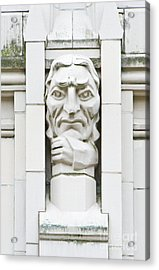 University Of Washington Exterior Artwork Acrylic Print by Rob Tilley