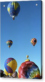 Up Up And Away Acrylic Print by Les Walker