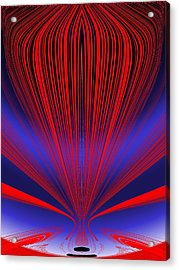 Up Up And Away Acrylic Print by Tim Allen