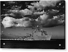 Uss Fort Mchenry Acrylic Print