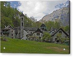 Valle Bavona - Ticino Acrylic Print by Joana Kruse