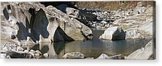 Valle Maggia Acrylic Print by Joana Kruse