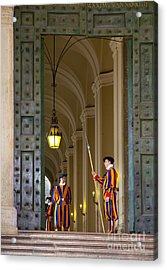Vatican Entrance Acrylic Print by Brian Jannsen