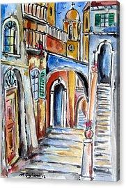 Vecchio Vicolo A Trastevere Acrylic Print