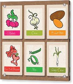 Vegetables Acrylic Print