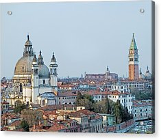 Acrylic Print featuring the photograph Venice At Dusk by Joseph Hendrix