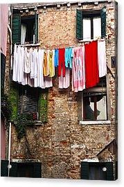 Venice Italy Fine Art Print Acrylic Print by Ian Stevenson