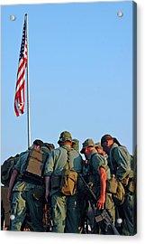 Veterans Remember Acrylic Print by Carolyn Marshall