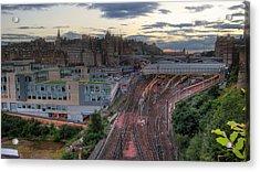 View Of Scotland Acrylic Print by Jose Luis Cezon Garcia