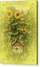 Vintage Garden Acrylic Print by Richard Cummings