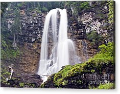 Virginia Falls Acrylic Print by Scotts Scapes
