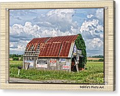 Acrylic Print featuring the photograph Vote For Me I by Debbie Portwood