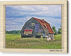 Acrylic Print featuring the photograph Vote For Me II by Debbie Portwood