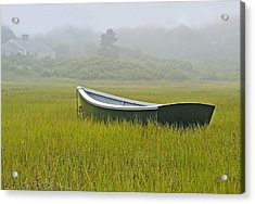 Waiting For The Tide Acrylic Print by Gordon Ripley