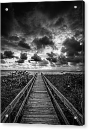 Walkway To Tomorrow Acrylic Print by Nick  Shirghio