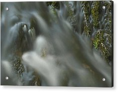 Water Movement Detail 15 Acrylic Print by Stephen  Vecchiotti