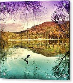 Water Reflection Acrylic Print