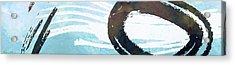 Water Stone Acrylic Print by Nomi Elboim