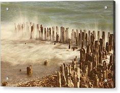 Waves Acrylic Print by Joana Kruse
