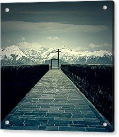 Way To Heaven Acrylic Print by Joana Kruse